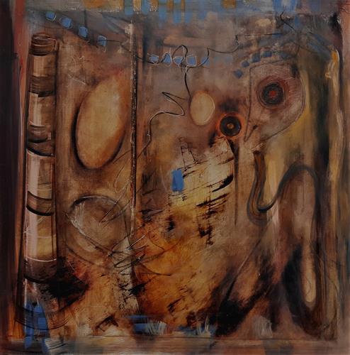 Andrea Finck, Australia Feeling, Mythologie, Andere, Abstrakter Expressionismus