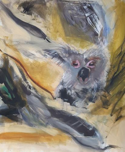 Andrea Finck, Dschungl, Tiere, Gegenwartskunst