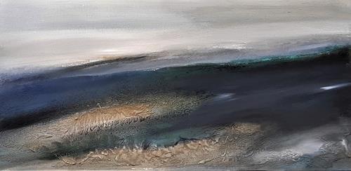 Andrea Finck, Mare II, Natur, Abstrakte Kunst