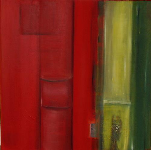 Andrea Finck, Bamboo, Pflanzen: Bäume, Abstraktes, Gegenwartskunst