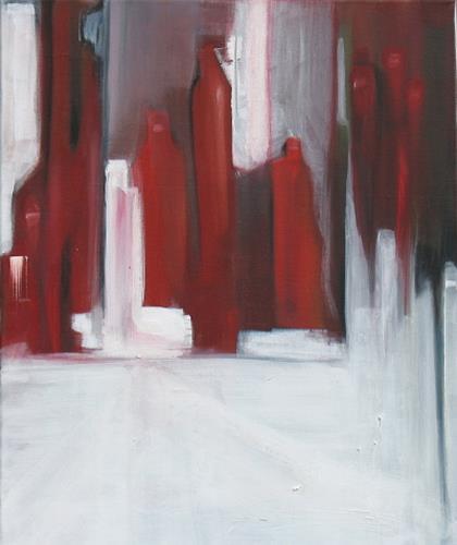 Andrea Finck, Manhattan Broadway, Abstraktes, Architektur, Gegenwartskunst