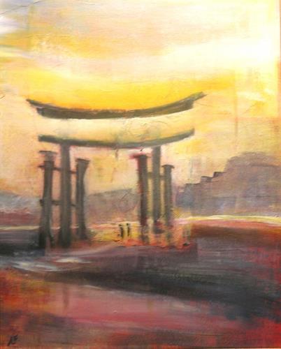 Andrea Finck, Torii, Mythologie, Religion, Gegenwartskunst