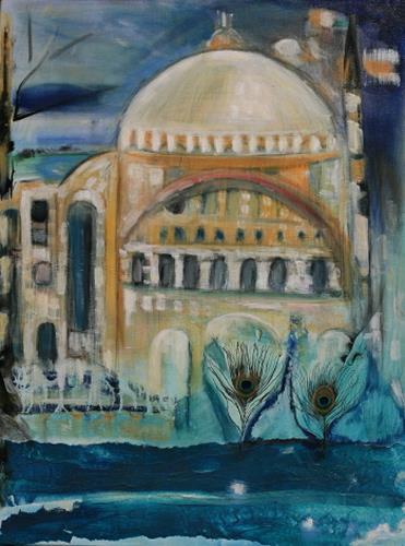 Andrea Finck, Hagia Sophia, Istanbul, Architektur, Geschichte, Gegenwartskunst