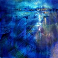 Annette-Schmucker-Landschaft-See-Meer-Natur-Wasser-Gegenwartskunst--Gegenwartskunst-