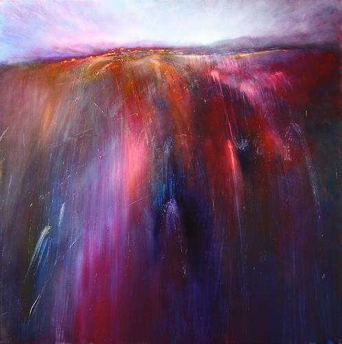 Annette Schmucker, Sunrise, Diverse Landschaften, Romantik: Sonnenaufgang, Gegenwartskunst, Expressionismus