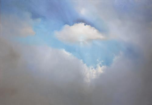 Annette Schmucker, Close your eyes and drift away, Gefühle: Geborgenheit, Diverse Landschaften, Gegenwartskunst