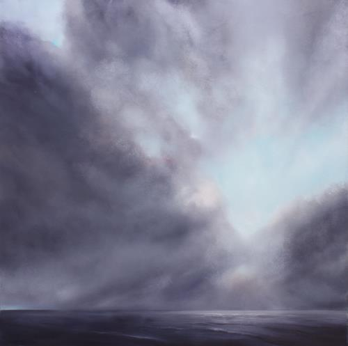Annette Schmucker, Veränderung II, Landschaft: See/Meer, Natur: Luft, Gegenwartskunst, Expressionismus