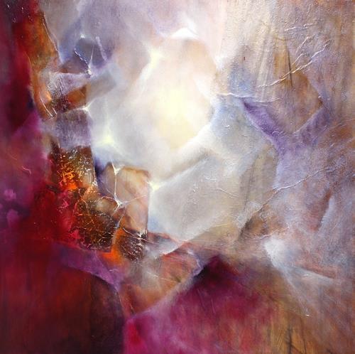 Annette Schmucker, Vom Inneren Leuchten, Abstraktes, Gefühle: Freude, Gegenwartskunst, Expressionismus