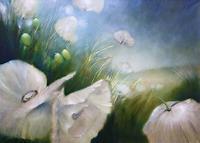 Annette-Schmucker-Pflanzen-Blumen-Landschaft-Fruehling-Gegenwartskunst-Gegenwartskunst