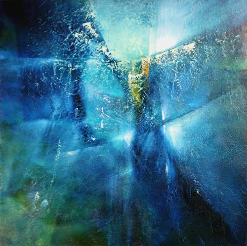 Annette Schmucker, And I dreamed I was flying, Abstraktes, Dekoratives, Gegenwartskunst