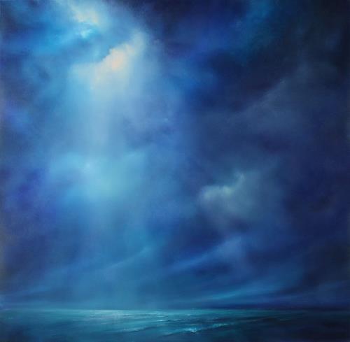Annette Schmucker, Kraft und Stille III, Natur, Natur: Wasser, Gegenwartskunst, Expressionismus