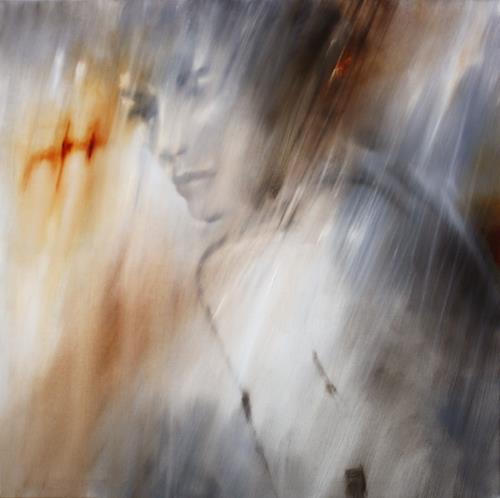 Annette Schmucker, Jana II, Akt/Erotik, Menschen, Gegenwartskunst, Expressionismus