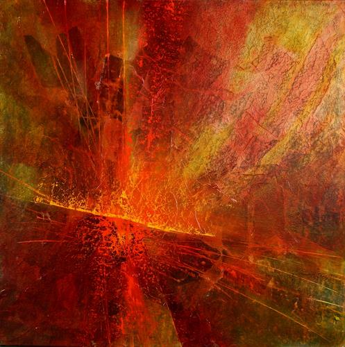 Annette Schmucker, Energiebündel, Abstraktes, Fantasie, Gegenwartskunst, Abstrakter Expressionismus