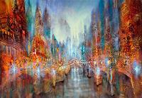 Annette-Schmucker-Diverse-Landschaften-Abstraktes-Moderne-Abstrakte-Kunst-Action-Painting