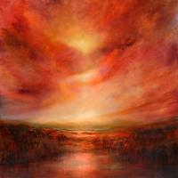 A. Schmucker, Evening glow