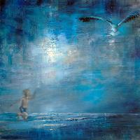 Annette-Schmucker-Menschen-Kinder-Tiere-Luft-Moderne-Expressionismus-Neo-Expressionismus