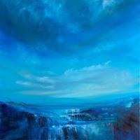 Annette-Schmucker-Landschaft-Landschaft-Berge-Moderne-Abstrakte-Kunst