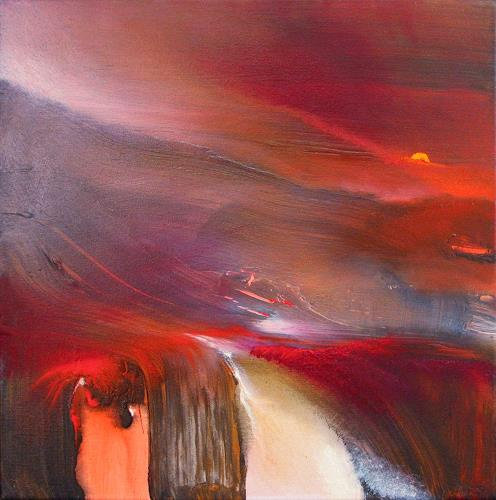 Annette Schmucker, New Dawn II, Diverse Landschaften, Abstraktes, Gegenwartskunst