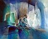 A. Schmucker, Im blauen Raum