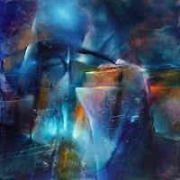 Annette-Schmucker-Abstraktes-Landschaft-Winter-Gegenwartskunst--Gegenwartskunst-