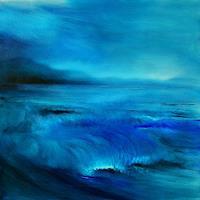 Annette-Schmucker-Landschaft-See-Meer-Gegenwartskunst--Gegenwartskunst-
