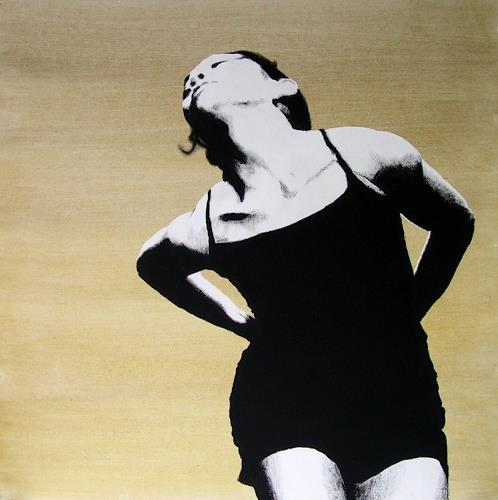 Christian Mueller, #101, Menschen: Frau, Bewegung, Moderne, Abstrakter Expressionismus