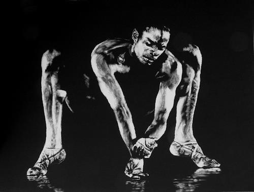 Christian Mueller, #141, Menschen: Mann, Bewegung, Gegenwartskunst, Abstrakter Expressionismus