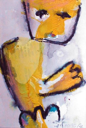 Annette Kunow, Schleicher, Abstraktes, Neo-Expressionismus, Abstrakter Expressionismus