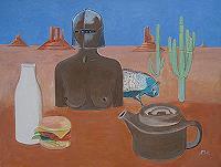 K. Mueller, Picknick in der Wüste