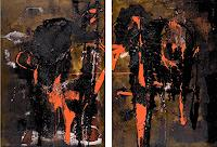 Renu-G-Dekoratives-Abstraktes-Gegenwartskunst--Neue-Wilde