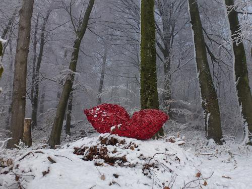 Renu G., Lippe, Landschaft: Winter, Gefühle: Liebe, Gegenwartskunst