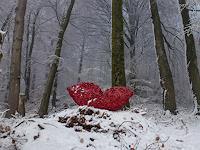 Renu-G-Landschaft-Winter-Gefuehle-Liebe-Gegenwartskunst-Gegenwartskunst