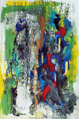 Renu G., Fantasy III, Abstraktes, Akt/Erotik: Akt Frau, Moderne