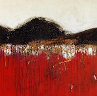 Renu-G-Landschaft-Berge-Dekoratives-Moderne-Moderne