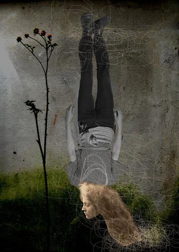 Marijana Zebeljan, O/T, Bewegung, Abstrakter Expressionismus