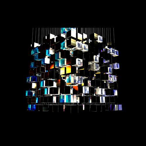Ralfonso, Ralfonso - Light Art - 1001 Cubes, Abstraktes, Kunst am Bau, Abstrakter Expressionismus