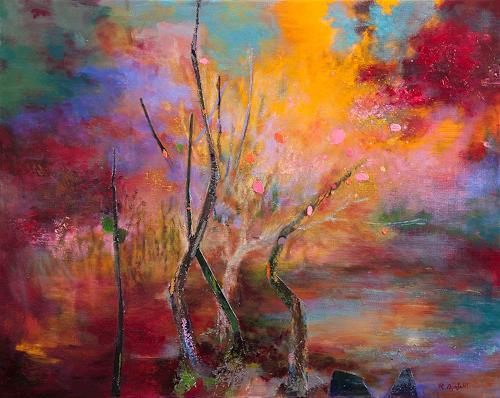 Rikka AYASAKI, Passions 7049, Abstraktes, Fantasie, Gegenwartskunst, Expressionismus