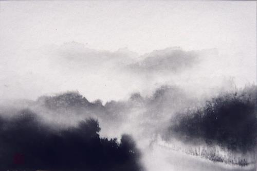 Rikka AYASAKI, Haze, Landschaft, Natur, Symbolismus, Expressionismus