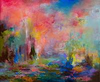 Rikka-AYASAKI-Landschaft-Fantasie-Moderne-Abstrakte-Kunst