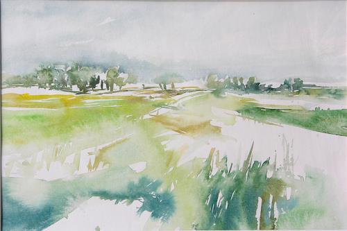 Christina Kläfiger, Seeland, Landschaft: Ebene