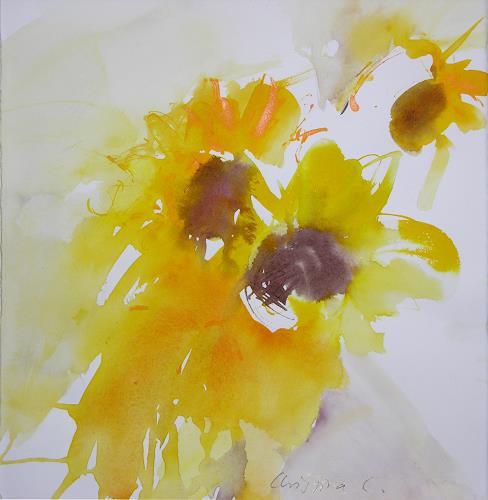 Christina Kläfiger, Summerbeauty, Pflanzen: Blumen, Expressionismus