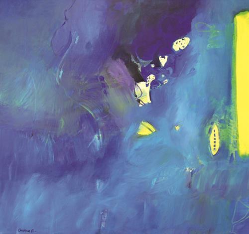 Christina Kläfiger, Wasserwelten, Landschaft: See/Meer, Natur: Wasser, Gegenwartskunst