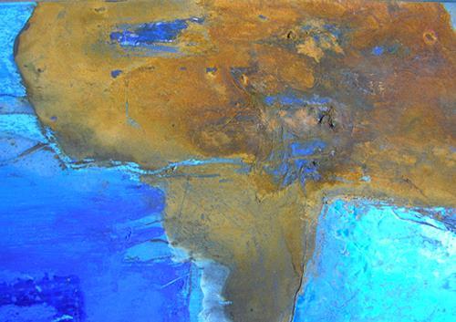 Christina Kläfiger, Kontinente (Ausschnitt), Gesellschaft, Natur: Diverse, Gegenwartskunst