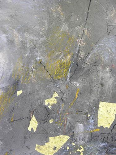 Christina Kläfiger, Goldstück, Abstraktes, Gegenwartskunst
