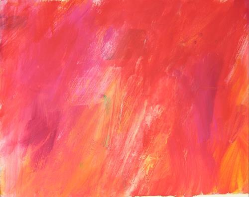Christina Kläfiger, Orange Place, Abstraktes