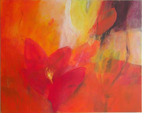 Christina Kläfiger, Lightning, Pflanzen: Blumen, Gegenwartskunst