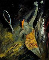p. ledent, tennis service