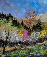 p. ledent, Spring colors