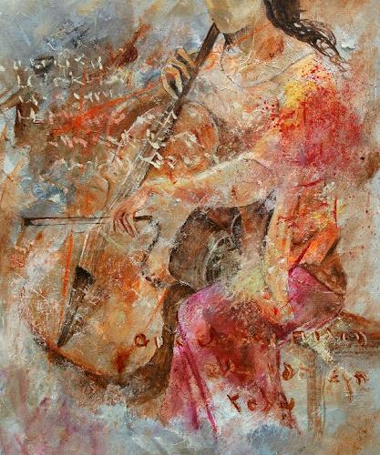 pol ledent, Cello player, Musik: Instrument, Expressionismus, Moderne