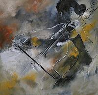 p. ledent, Playing cello
